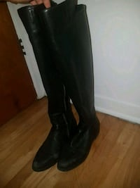 Michael kors leather boots size 8  Laval