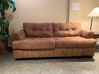 Brown/Tan Couch Frederick, 21703