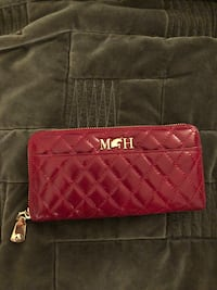 NEW red leather Mario Hernandez wallet. Montréal, H8Y 3J1