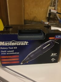 Master craft Rotary tool kit Welland, L3C 6S5