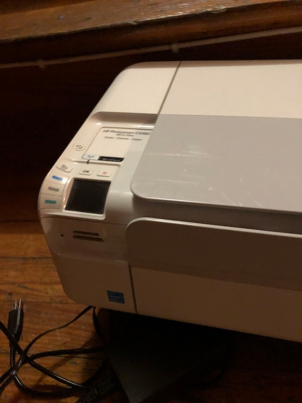 Wireless HP scanner and color printer