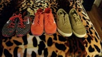 pair of womens nike size 7.5 and Boys Lugz size 8 Regina, S4X 2J7