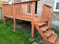 Deck for immediate pickup in mississauga Mississauga