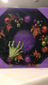 "NEW 24"" HALLOWEEN WREATH  Maple Ridge, V2X 3M2"