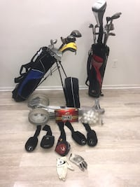 2 golf bags, one bag cart lots more. See details Potomac, 20854