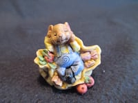 "Small mouse figurine 1.5"" Burlington"