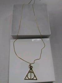 silver chain necklace with pendant Waldorf, 20603