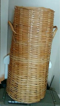 Tall,wicker basket with handles Rome, 30161