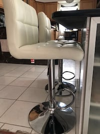 White and black salon chair each 89$ brand new In box have total of 4. Manassas, 20110