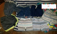 toddler's assorted-color short lot Beaumont