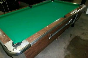 Valley Dynamo Tiger Pool Table HECCH
