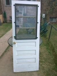 "82"" x 32"" Exterior Security Door"