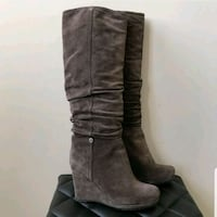 Brand New Prada Suede Brown Boots Mississauga, L5B 0C1