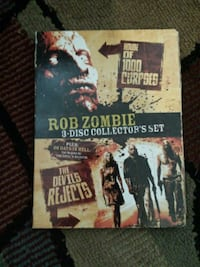 Rob Zombie 3 Disk Collectors set DVDS Baltimore, 21230