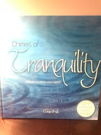 Tranquility hardcover book with disc.