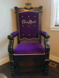 Large Crown Royal King's Throne Chair Newberg, 97132
