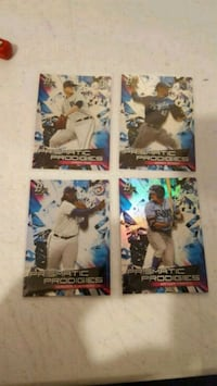 2019 Bowman platinum lot of 4 inserts  Jessup, 20794