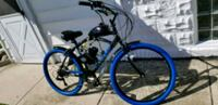 blue and black motorized bicycle Brookfield, 60513