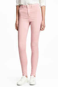 H&M Light pink high waisted skinny pants 3734 km