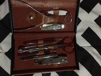 Nail kit with case