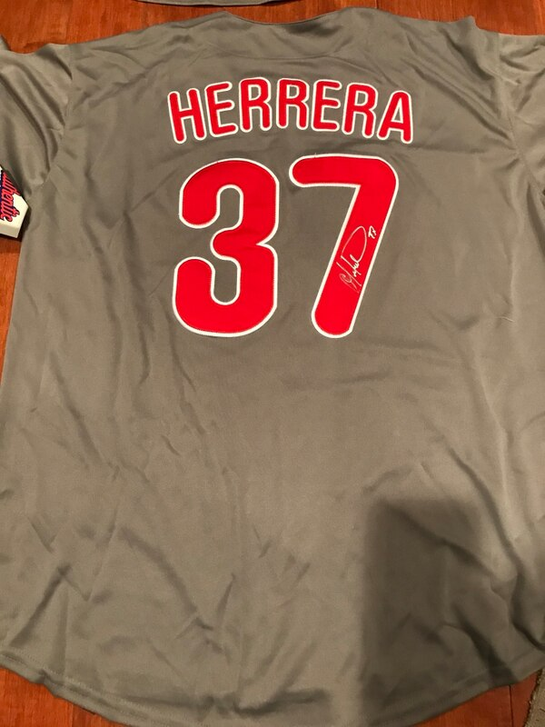 Used Obdubel Herrera signed Phillies jersey for sale in Northampton - letgo 34a3173df54