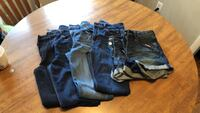 two pairs of blue denim jeans Lodi, 07644