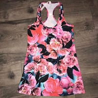 pink and white floral sleeveless dress West Kelowna, V4T 1T8