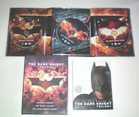 Batman the Dark Knight Framed Poster and Trilogy DVD Boxed Set