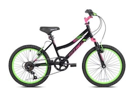 """NEW! Girls BCA 20"""" BMX, Firm Price, pink, neon pink and green."""