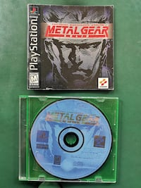METAL GEAR SOLID Tactical Espionage Action  for PS1