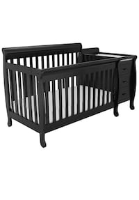 Athena Kimberly crib and changing table (Black) Riverside, 92503