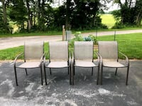 Outdoor chairs Frederick