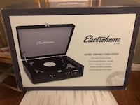 BRAND NEW ELECTROHOME ARCHER TURNTABLE STEREO SYSTEM North Dumfries