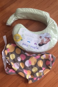 Nursing pillow with extra cover