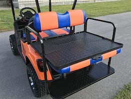 4 PASS GOLF CART ) )2Q16 Ez Go 2+2 Electric Freedom- $1000