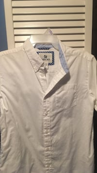 BOYS large white button-up shirt Longwood, 32750