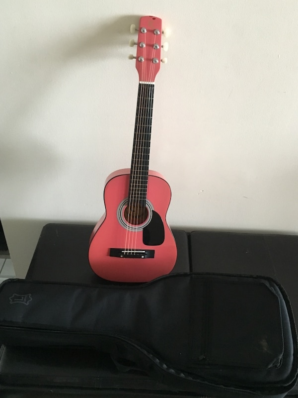 Kids guitar with case