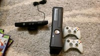 Xbox 360 w/ Kinect & Games Algonquin