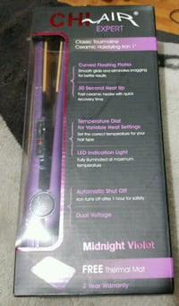 Brandnew purple CHI hair flat iron Calgary, T2A 6E4