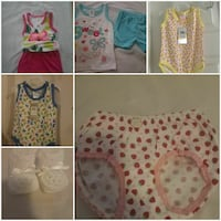 toddler's assorted clothes photo collage Fort Lauderdale, 33309