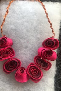 Necklace. Flower necklace from Mexico  Chicago, 60607