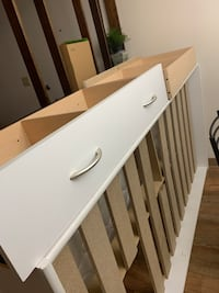 Twin bed and bed frame