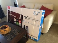 Unopened box for 65 inch flat screen TV for sale. Waldorf, 20601