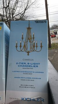 Camella 2-tier 9-light Chandelier box Nashville, 37076