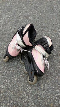 pair of black-and-pink inline skates Bedford, B4A
