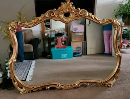 Baroque Style Mirror - Perfect Condition