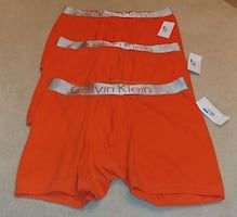 A Lot of 3 Pairs of Calvin Klein Boxers Brand New