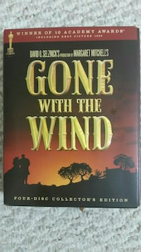 GONE WITH THE WIND COLLECTION DVD