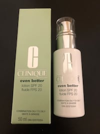 New in box Clinique even better lotion - 50 mL Toronto, M2J 1Z1
