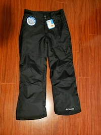 Man Black Snow Pant